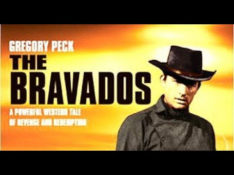 GREGORY PECK: The Bravados (Western Movie, English, Full Length, Classic Feature Film) full westerns