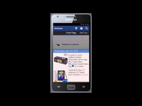 Video of SlickDeals Reader Lite