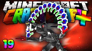 """Minecraft Mods Crazy Craft PLUS Speed Run """"ALIEN HUNT!"""" Modded Survival #19 w/Lachlan"""