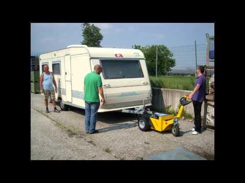 Alitrak TT900-Plus Battery Electric Caravan Mover