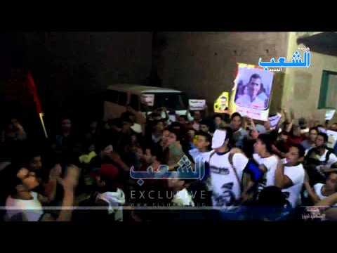"""وقفة ثورية بـ """"أوسيم"""" أمام منزل الشهيد عبد المنعم قمح"""