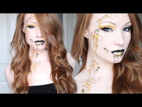 Queen Bee Makeup/Hair Tutorial
