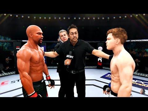 FLOYD MAYWEATHER JR vs TENSHIN NASUKAWA   EA Sports UFC 3