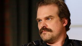David Harbour: Season 1 of 'Stranger Things' Was 'The Most Miserable Time in My Life'