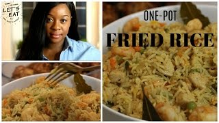 Nigerian Fried Rice Recipe | One Pot Method