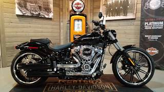 6. 2018 Harley Davidson Softail Breakout FXBR vivid black