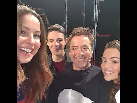 Robert Downey Jr promoting Dolittle