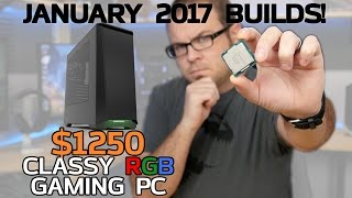 Classy Kaby Lake RGB Gaming PCs! 7700K & 7600K - Jan 2017 Builds full download video download mp3 download music download