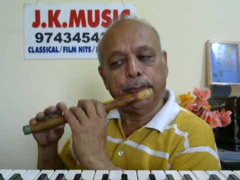 Video Sochenge Tumhe Pyar'DEEVANA'hindi song FLUTE by VISWANATH LS download in MP3, 3GP, MP4, WEBM, AVI, FLV January 2017