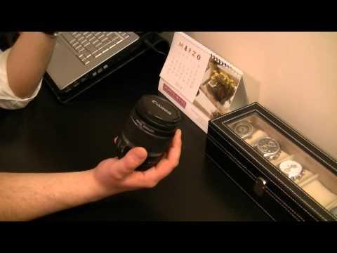 Unboxing e recensione obiettivo Canon 18-55 IS II ITA