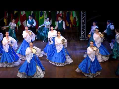 FENADI 2019 - Apresentação Etnia Italiana no Palco das Etnias.