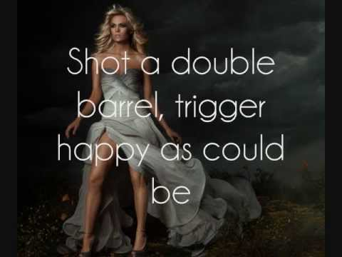 Carrie Underwood - Cupid's Got A Shotgun [Lyrics On Screen]