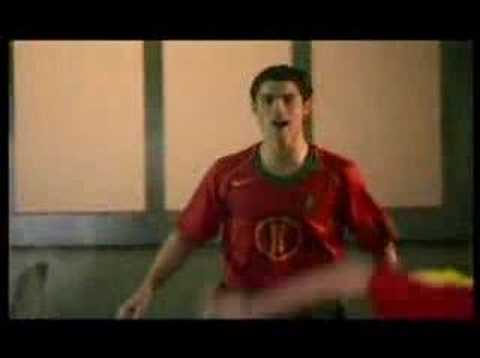 soccer commercial - this is a funny commercial.