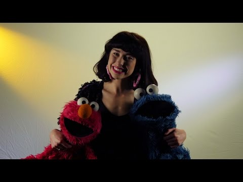 Kimbra - Kimbra & Cookie Monster
