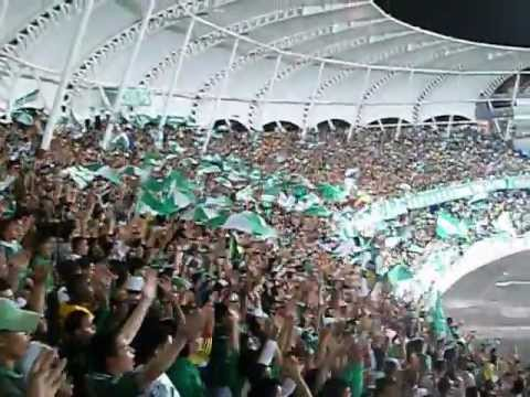 Deportivo cali 1 vs quindio 1 hinchada 13/abril/2012 - Frente Radical Verdiblanco - Deportivo Cali