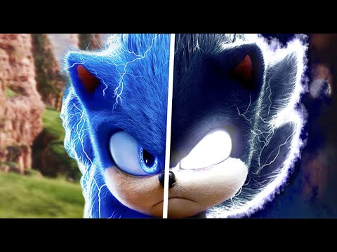 Sonic The Hedgehog Movie Choose Your Favorite Desgin For Both Characters (Dark Sonic & Sonic)
