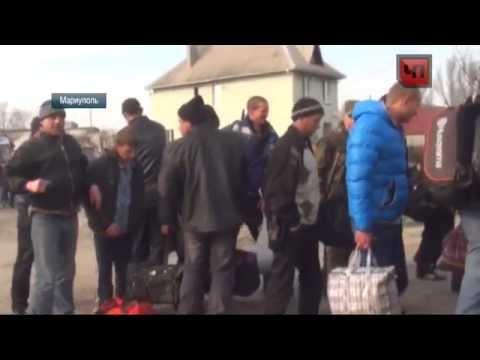"""Мобиллизированые Украинские """"вояки"""""""