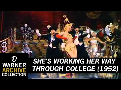 She's Working Her Way Through College (Original Theatrical Trailer)