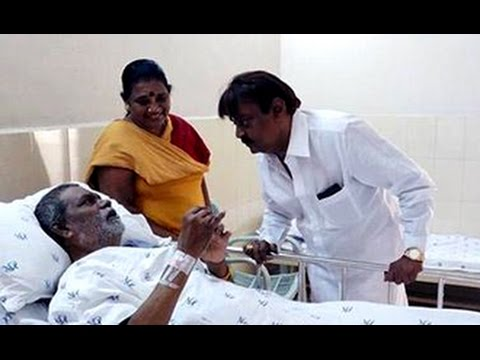 Vijayakanth rushes to Hospital to see Vinu Chakravarthy