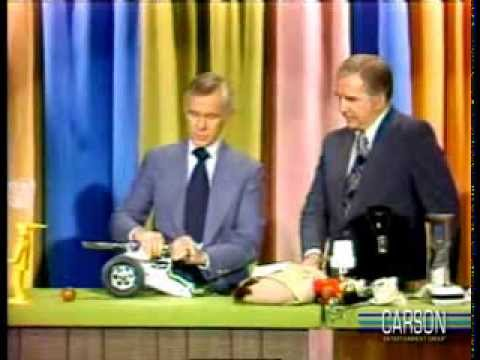 blasts - Johnny Carson and Ed McMahon have a tough time testing out kids' toys for the holidays. More Johnny Carson bloopers http://bit.ly/carson_bloopers. The toys t...