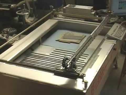 Home Built 30 Watt Laser Table