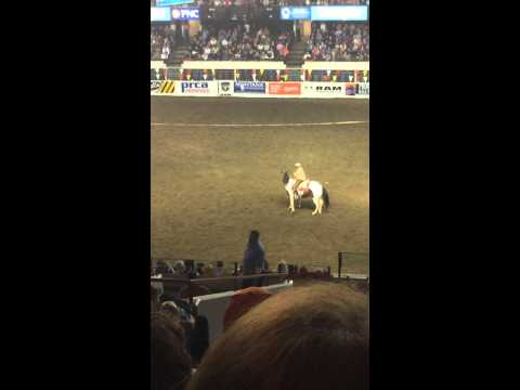 North American Championship Rodeo: Trick Riding – Spin The Horn