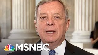Sen. Dick Durbin (D-IL) was on MSNBC where he said that he stands with states who have stood up to President Trump's voter fraud commission. » Subscribe to ...