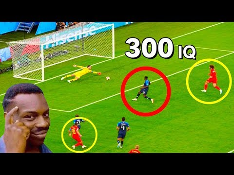 Football - When Players Have 300 Iq (genius Plays)