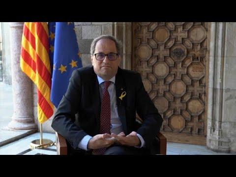 Regionalchef Torra fordert legales Referendum für Katalonien