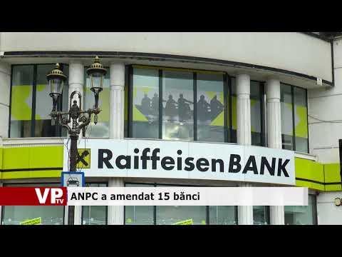 ANPC a amendat 15 bănci