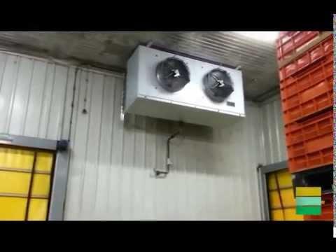 Monitorización de cámara de preenfriamiento