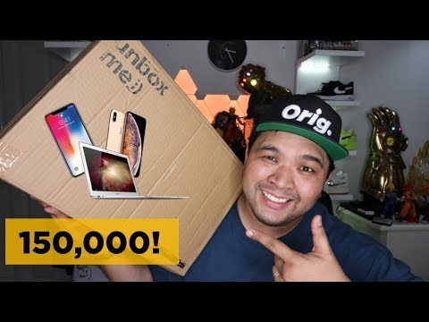 P150,000 ($3,000) APPLE MYSTERY BOX UNBOXING!!!
