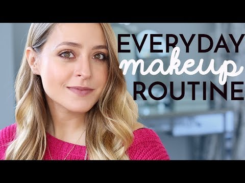 Make up - My Everyday MAKEUP Routine  Fleur De Force