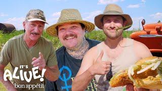 Brad and Matty Matheson Go Noodling for Catfish Part 2   It's Alive   Bon Appétit