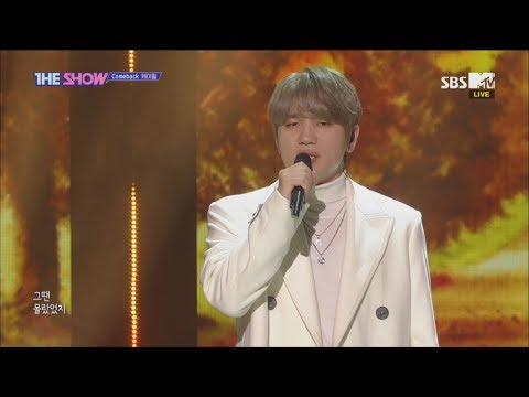 K.will, Those Days [THE SHOW 181113]