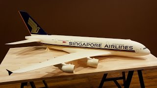 Video Singapore Airlines A380 - Painting Time-lapse **4K/60fps** MP3, 3GP, MP4, WEBM, AVI, FLV Agustus 2018