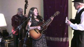 Lauren Sheehan at the Old Time Gathering in Portland playing Drunk Man's Blues