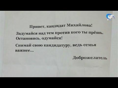 Кандидату в депутаты новгородской думы Елене Михайловой угрожает неизвестный «доброжелатель»