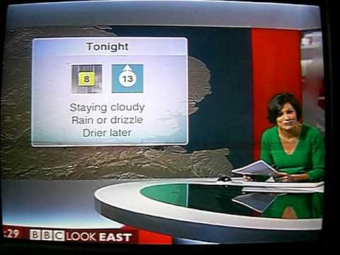 BBC Look East blooper by Anjana Gadgil -