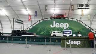 2013 Jeep Grand Cherokee Trail Hawk | Off Road Test Drive Camp Jeep | 2013 SV Auto Show | DGDG.com