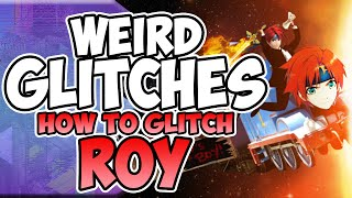 Roy's Up+B KO glitch(?)