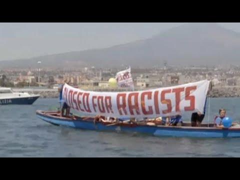 Περιπέτειες στη Μεσόγειο για το πλοίο που «υπερασπίζεται την Ευρώπη»