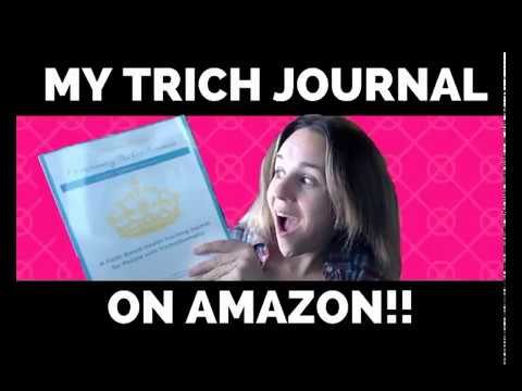 My Trichotillomania Therapy Journal Is On Amazon!