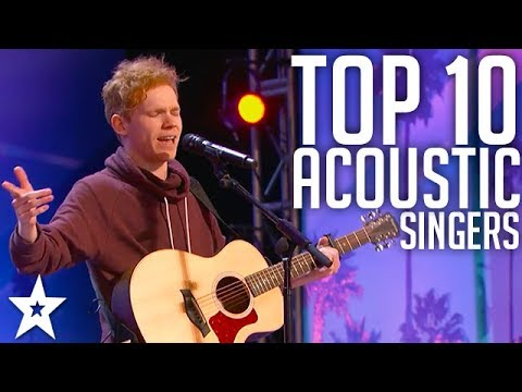 Top 10 BEST Male Acoustic Guitar Performances EVER | Got Talent Global (видео)
