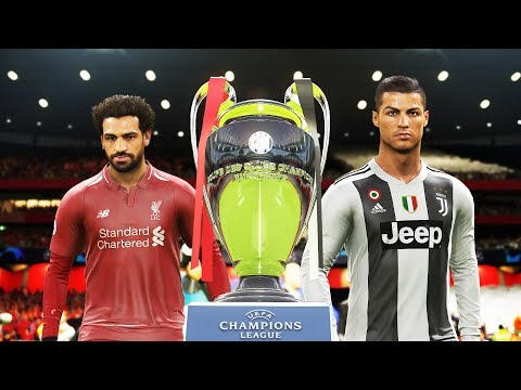PES 2019 - Juventus Vs Liverpool - Final UEFA Champions League [UCL] - Penalty Shootout