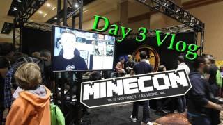 Minecon - Minecon Day 3 Vlog - Releasing Minecraft With Notch&Deadmau5