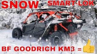 10. 2018 CAN AM MAVERICK X3 XRS MAX SNOW RIDE PART 3