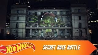 Secret Race Battle -- 3D Projection Mapping in Sydney | Hot Wheels
