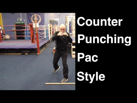 Boxing Footwork - Counter Punching Pac Style