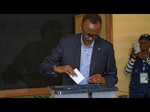Θριαμβευτική επανεκλογή Καγκάμε στην προεδρία της Ρουάντα